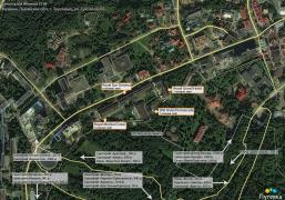 План территории санатория Женева СПА (Royal Hotels and SPA Resorts)